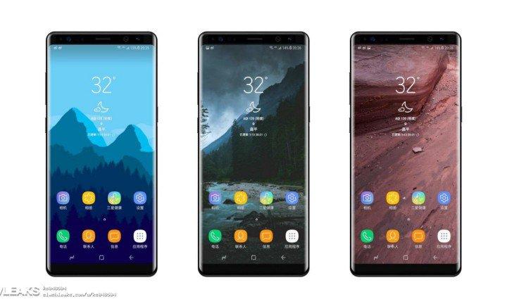 Imágenes reales del Note 8 que será presentado a finales de agosto