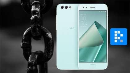 green ZenFone 4