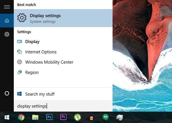 Cambiar el tamaño de fuente en Windows 10