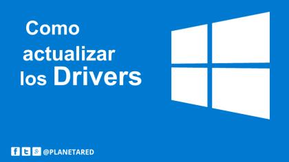 Actualizar driver windows 10