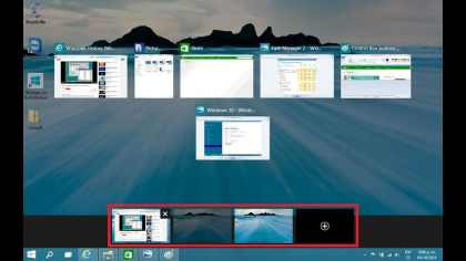 crear varios escritorios en Windows 10