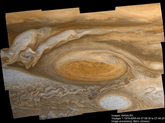 Credit: NASA/JPL, image processing: Björn Jónsson