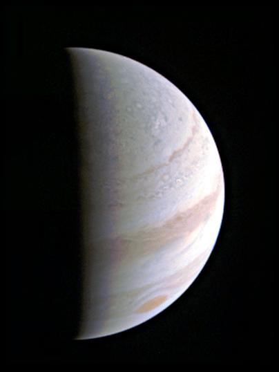 Jupiter Saturday 27th August 2016 JUNOCAM