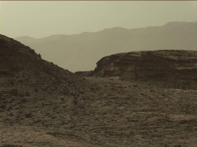 Sol 1421. Image Credit: NASA/JPL-Caltech/MSSS