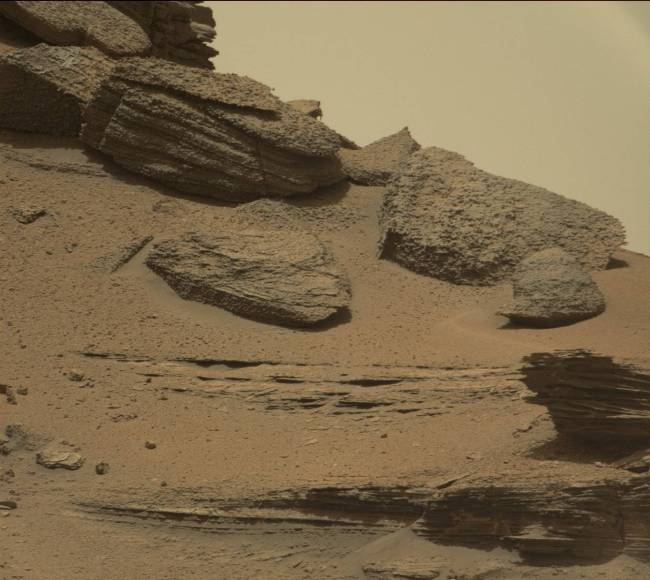 Sol 1433. Photo Credit: NASA/JPL-Caltech/MSSS