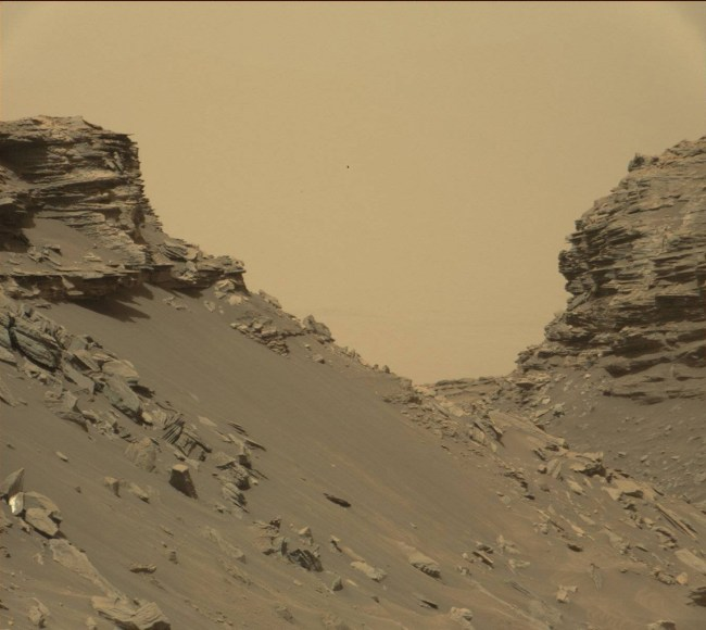 Region between two buttes. Photo Credit: NASA/JPL-Caltech/MSSS