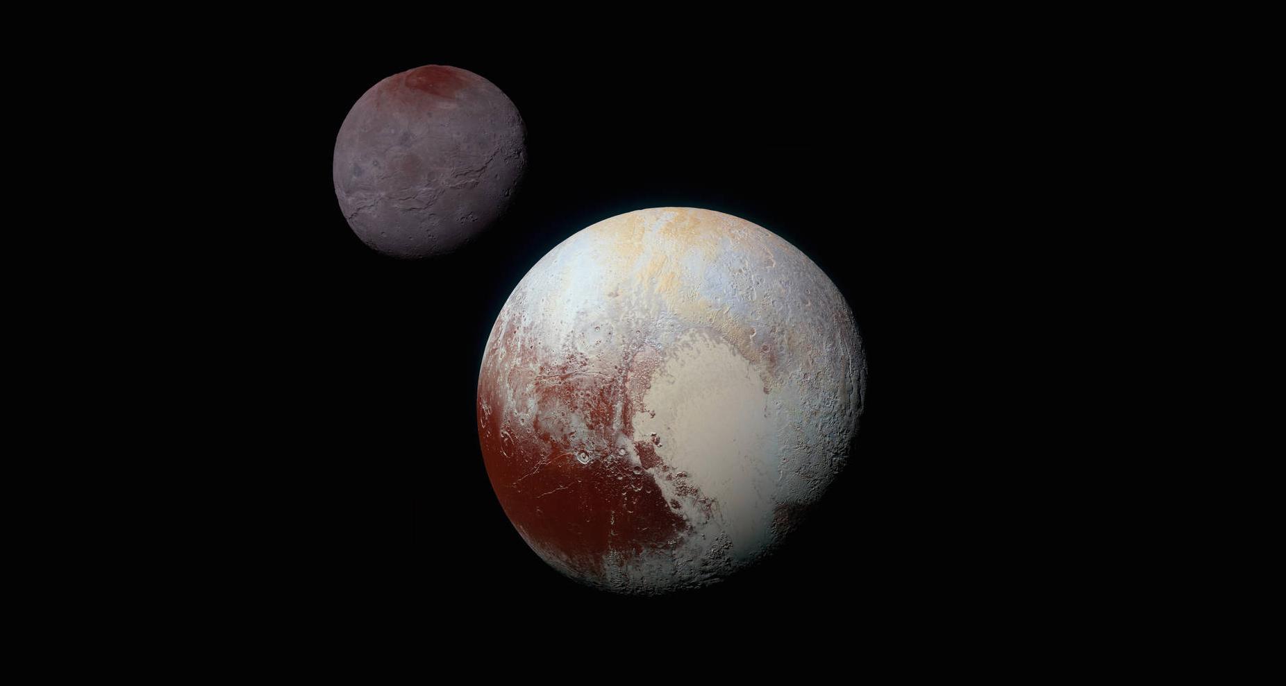 Charon Moon: Ancient Water World: Tectonics On Pluto's Moon Charon