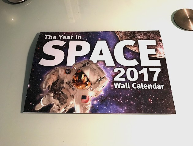 The new wall calendars for The Year in Space 2017. Photo Credit: Paul Scott Anderson