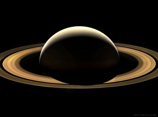 The final full view of Saturn from Cassini, on Sept. 13, 2017. Image Credit: NASA/JPL-Caltech/Space Science Institute/Jason Major