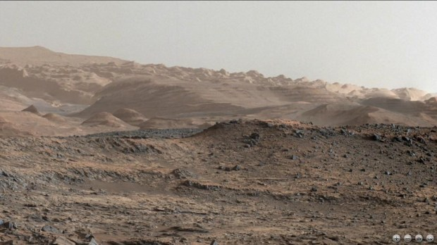 Another view of the foothills on Mount Sharp. Image Credit: NASA/JPL-Caltech/MSSS/Lars (@LarsTheWanderer)