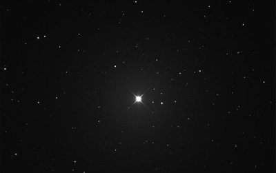 """The star 61 Vir, considered the most likely to have an """"old Earth"""" exoplanet orbiting it. Photo Credit: Kevin Heider"""