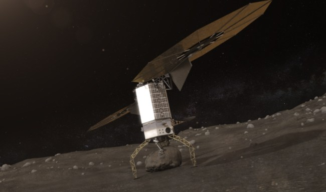 Artist's conception of the Asteroid Redirect Mission (ARM). The new House bill directs NASA to bypass this mission and return to the Moon instead, before going to Mars. Image Credit: NASA