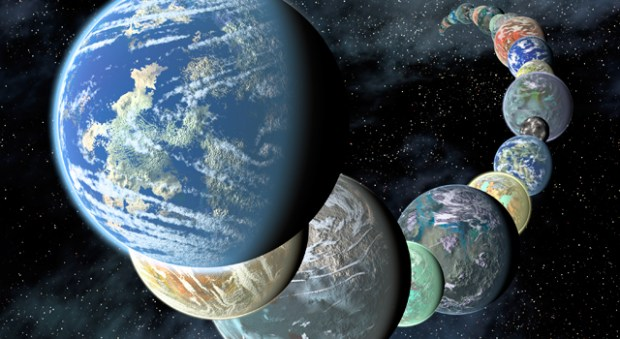 Oceans may be common early in the formation of rocky planets. Credit: NASA / JPL-Caltech