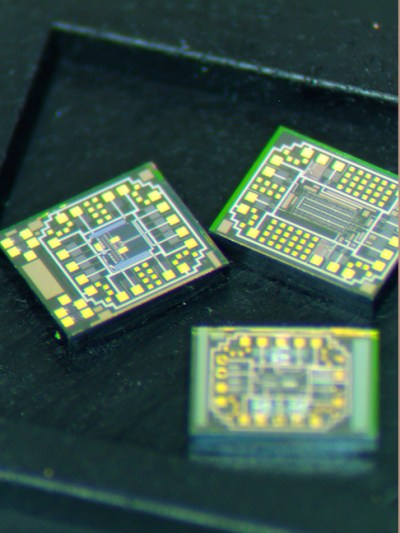 Examples of the advanced circuits being designed by Ozark IC to withstand the high temperatures and pressure on Venus. Photo Credit: Ozark Integrated Circuits Inc.