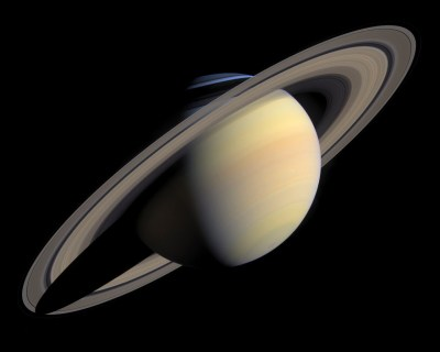Saturn's main rings are an exquisite sight; the massive Phoebe ring is much larger but also much dimmer. Photo Credit: NASA/JPL-Caltech