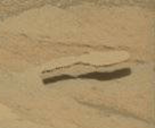 """Spoon"" #2, not far from the first spoon. Photo Credit: NASA/JPL-Caltech/MSSS"
