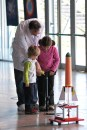 Taller de lanzamiento de cohetes