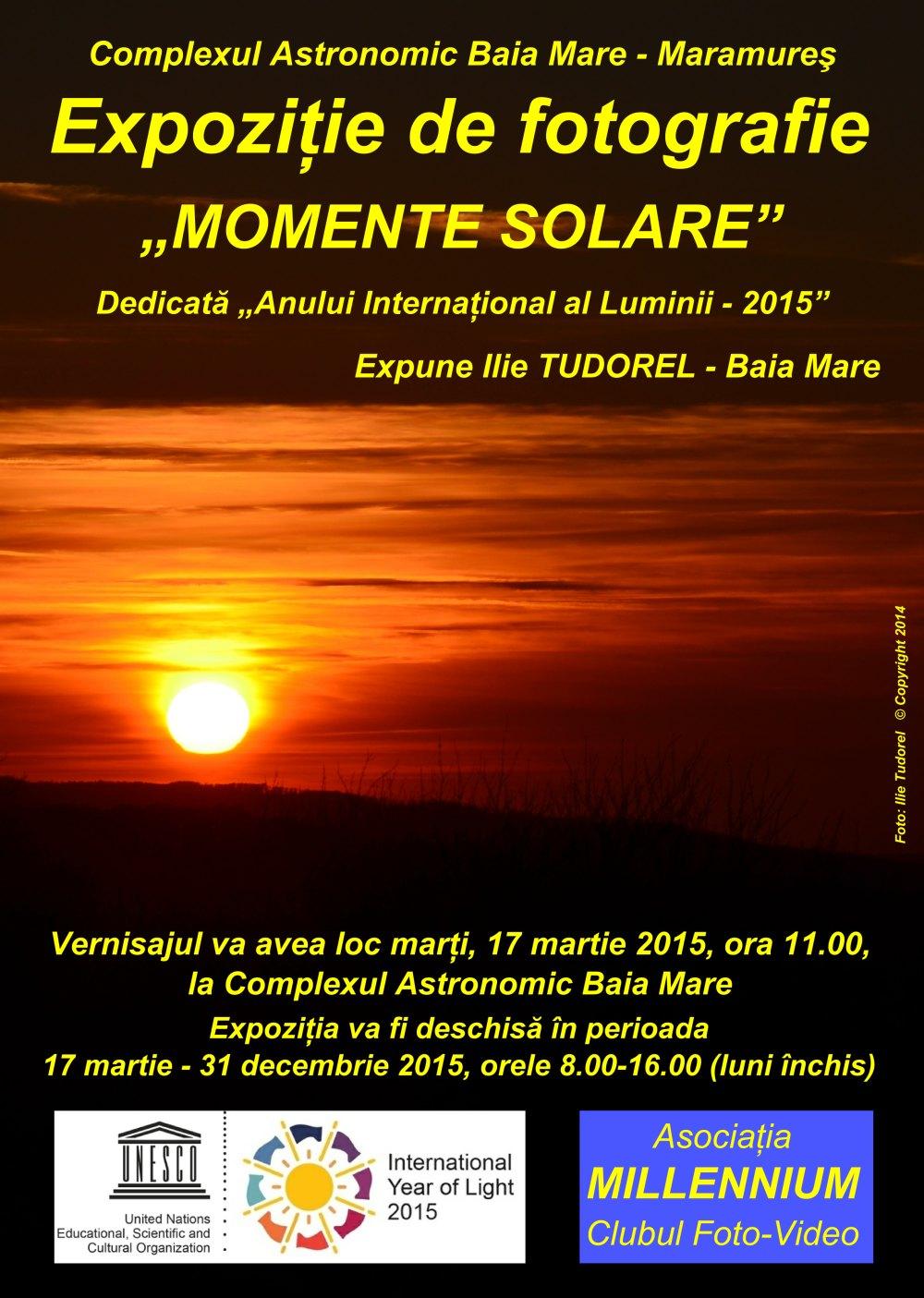 momente solare mic