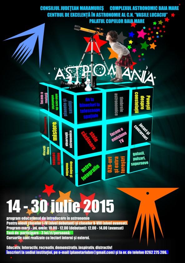 astromania - program educațional