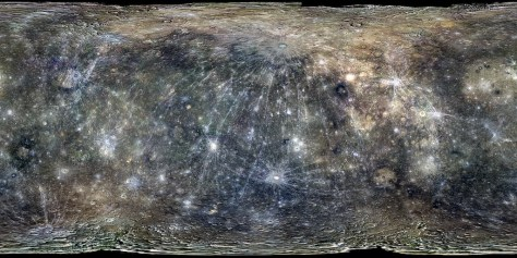 Mercury seen by MESSENGER. © USGS