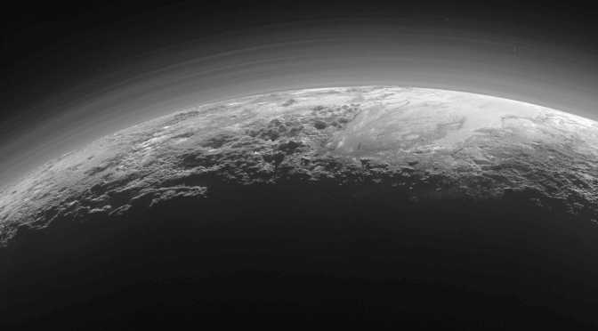Pluto seen by New Horizons. © NASA