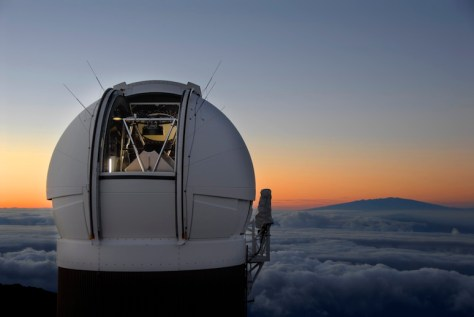 The Pan-STARRS1 telescope. © Pan-STARRS