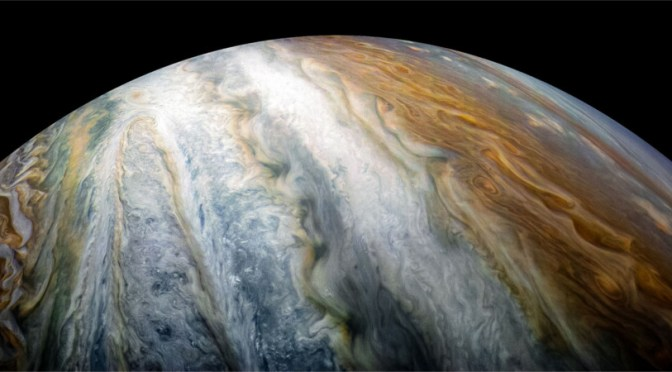 Jupiter seen by Juno © NASA