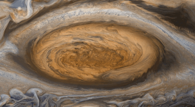 The red spot of Jupiter