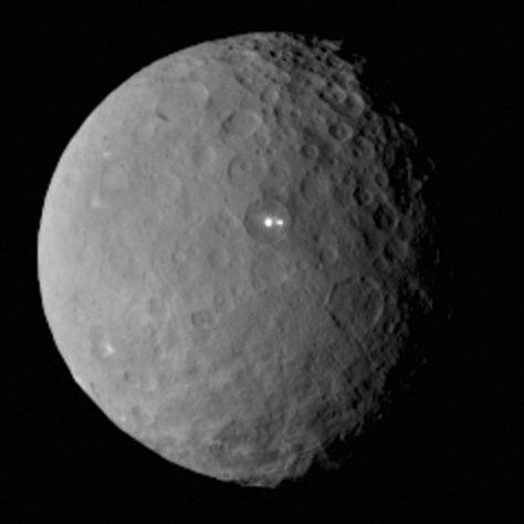 Ceres seen by Dawn © NASA/JPL-Caltech/UCLA/MPS/DLR/IDA