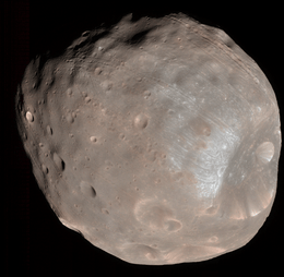 Phobos seen by Mars Reconnaissance Orbiter. © NASA/JPL-Caltech/University of Arizona