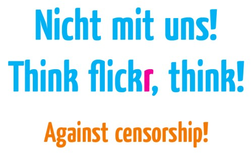 Censorship at Flickr