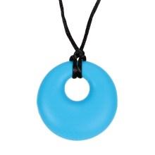 colgante circular azul