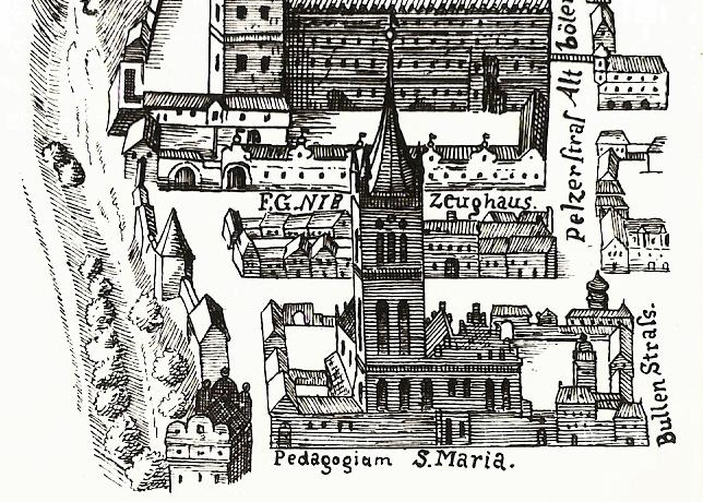 Pedagogium iKościół NMP Kothe 1625