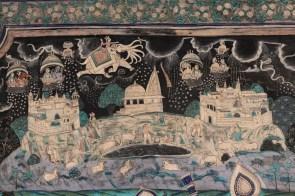 Mural at Bundi