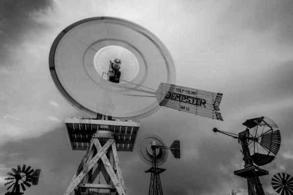 Shattuck windmill museum and park
