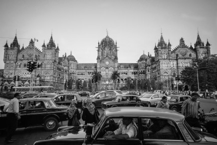 Victoria Station in Mumbai