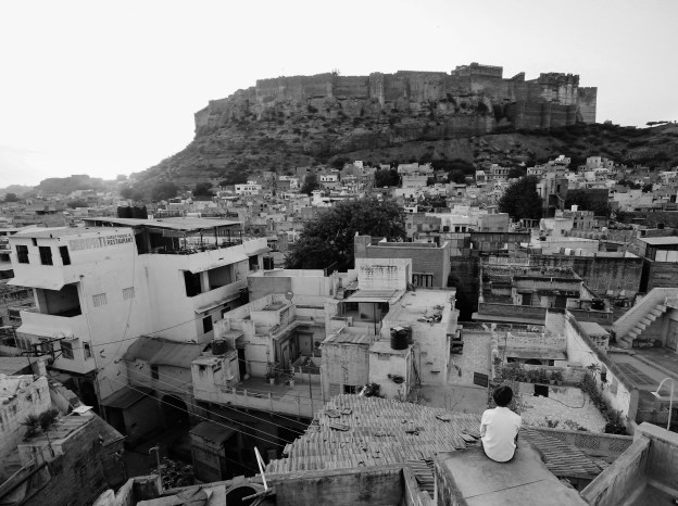 Jodhpur at sunset