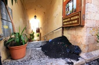 Taormina Mt. Etna clean up