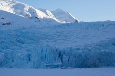 Portage Glacier in the Winter