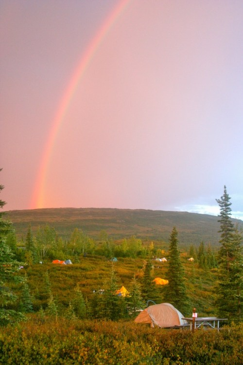 Wonder Lake Rainbow