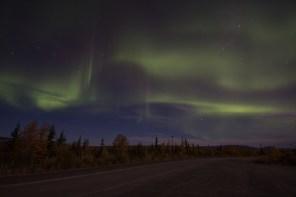 Aurora from Stampede Road, Alaska
