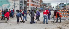 Iditarod trail crew