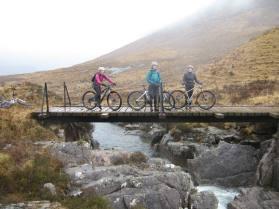 Crossing the brdge