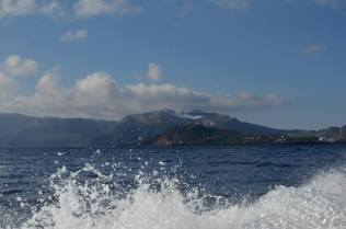 Vulcano from the boat
