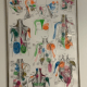 9.Trigger Points I and Trigger Points II  - – Framed Posters