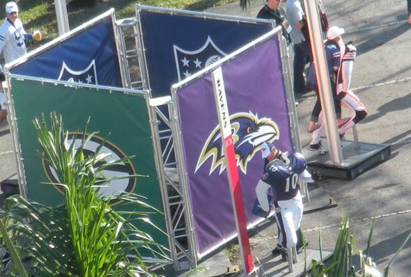 Baltimore Ravens Experience Superbowl