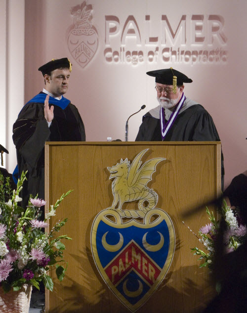Palmer Chiropractic College Inaugurates New Chancellor
