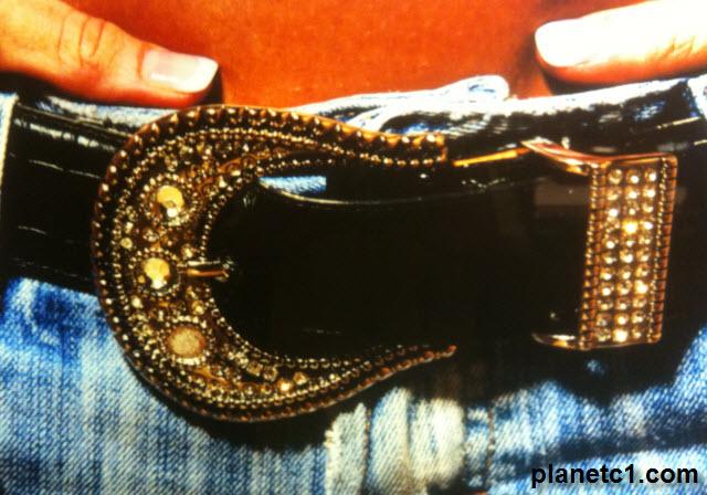 Jeweled Cowgirl Belt