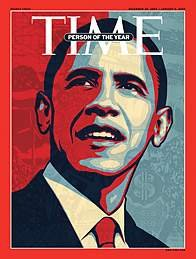 President elect Barack Obama has been named the 2008 Person of the Year