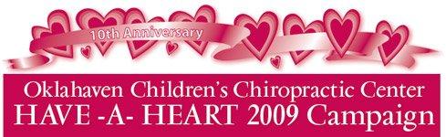 Oklahaven Children's Chiropractic Center Have-A-Heart Fundraiser 2009